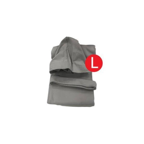 Liabel Accappatoio Microfibra Adulto Unisex Tortora Taglia L