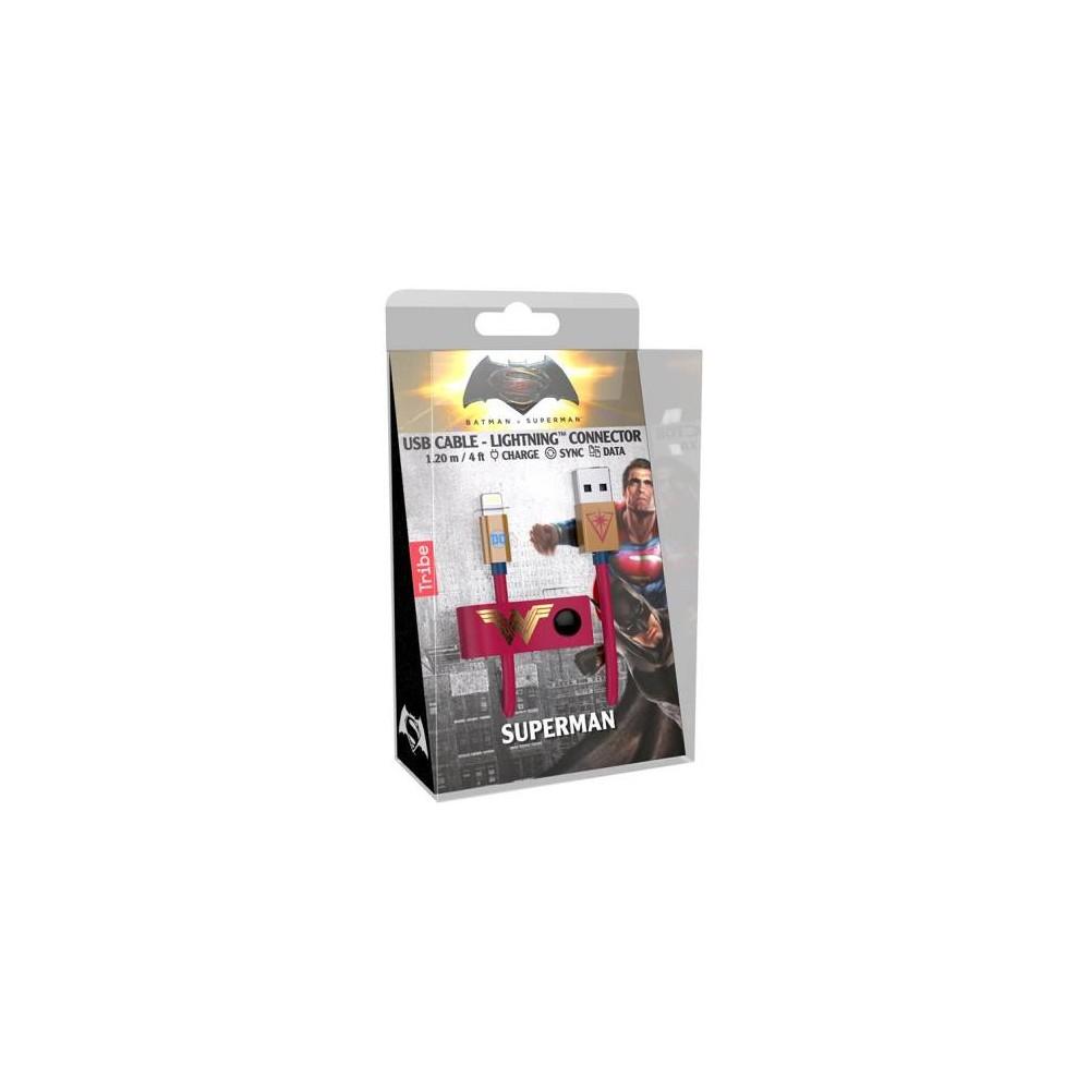 Tribe Cavo MFi Lightning iPhone 1.2m Wonder Woman
