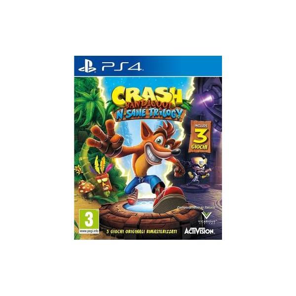 PS4 Crash Bandicoot N.Sane Trilogy EU