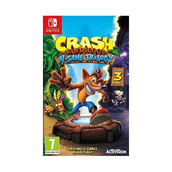 Switch Crash Bandicoot N.Sane Trilogy EU