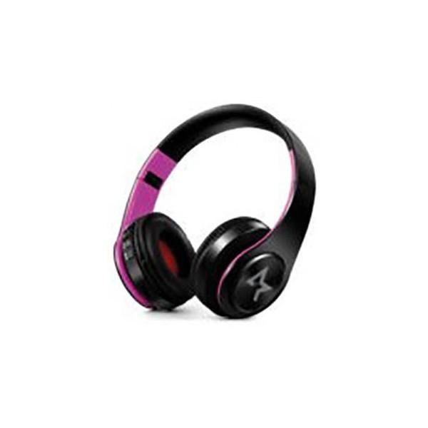 All Star Cuffie Bluetooth ASH-660KX Nero-Rosa