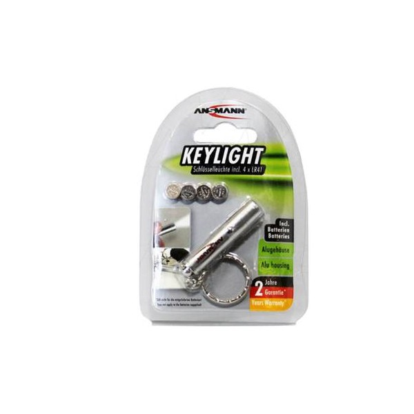 Ansmann Mini-Torcia LED portachiavi
