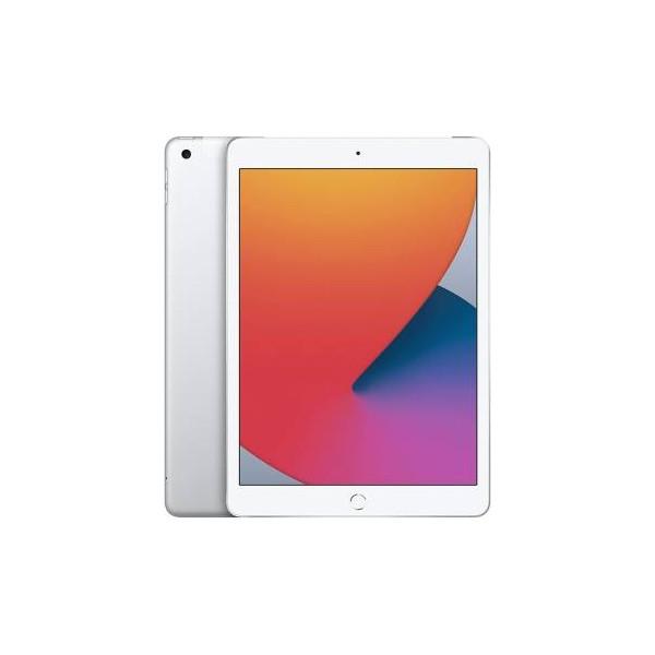 """Apple iPad 2020 32GB Wi-Fi + Cellular 10.2"""" Silver ITA"""