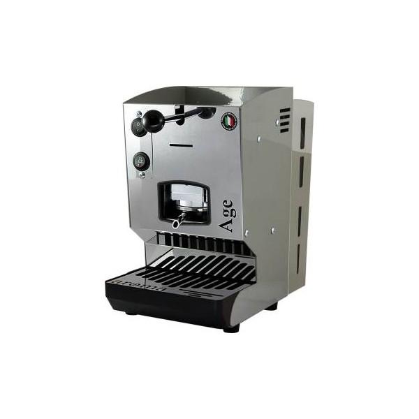 Aroma Age Macchina da Caffè Cialde 44mm Grigio Polvere