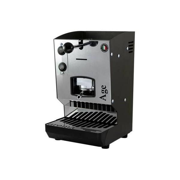 Aroma Age Macchina da Caffè Cialde 44mm Nero