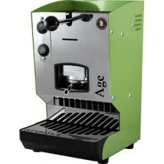 Aroma Age Macchina da Caffè Cialde 44mm Verde Pastello