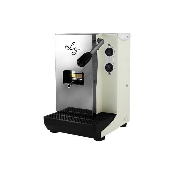 Aroma Plus Basic Macchina da Caffè Cialde 44mm Bianco