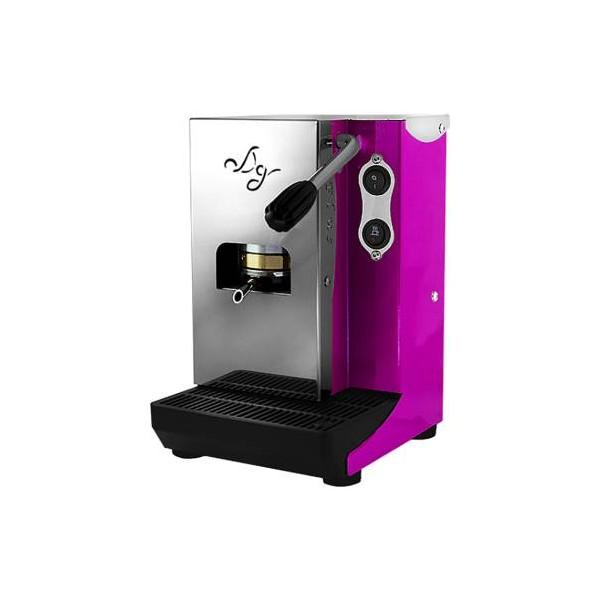 Aroma Plus Basic Macchina da Caffè Cialde 44mm Ciclamino