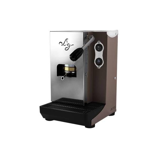 Aroma Plus Basic Macchina da Caffè Cialde 44mm Tortora