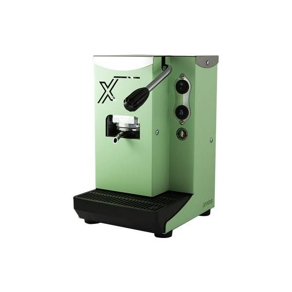 Aroma X Macchina da Caffè Cialde 44mm Verde