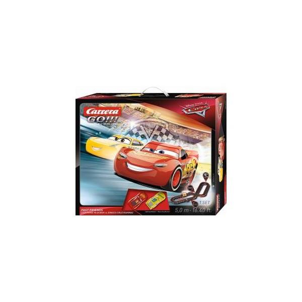 Carrera Pista GO!!! Cars 3 Fast Friends - 5,0 m