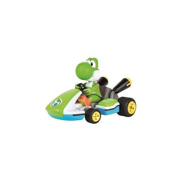 Carrera Radiocomandato Mario Kart Race Kart with sound - Yoshi