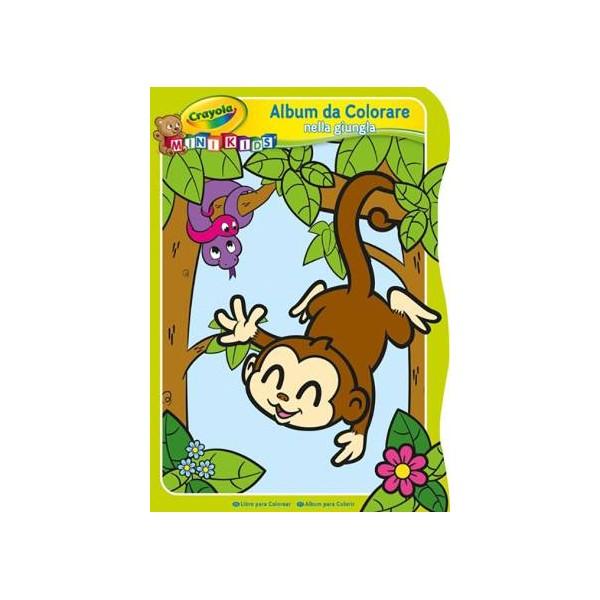 Crayola Mini Kids Album da Colorare