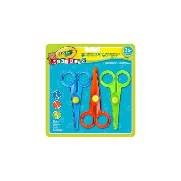 Crayola Mini Kids Forbici di Sicurezza 3pz