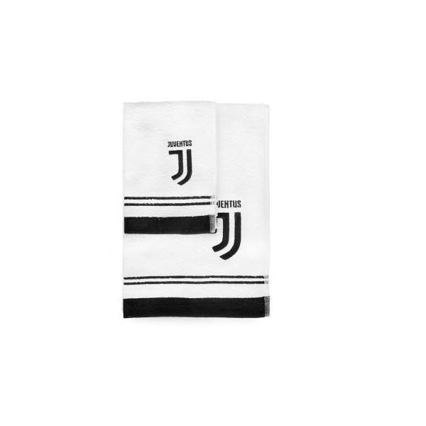 Hermet Set Asciugamani Spugna FC Juventus 1+1 60x100 / 40x60