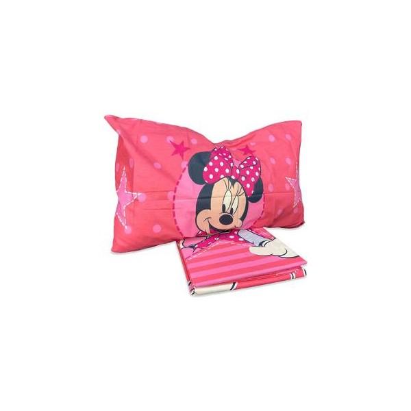 Hermet Completo Letto Minnie Mouse Cotone - Misura: Singolo V44