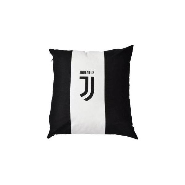 Hermet Cuscino SagomatoFC Juventus 40x40 Striscia Bianca