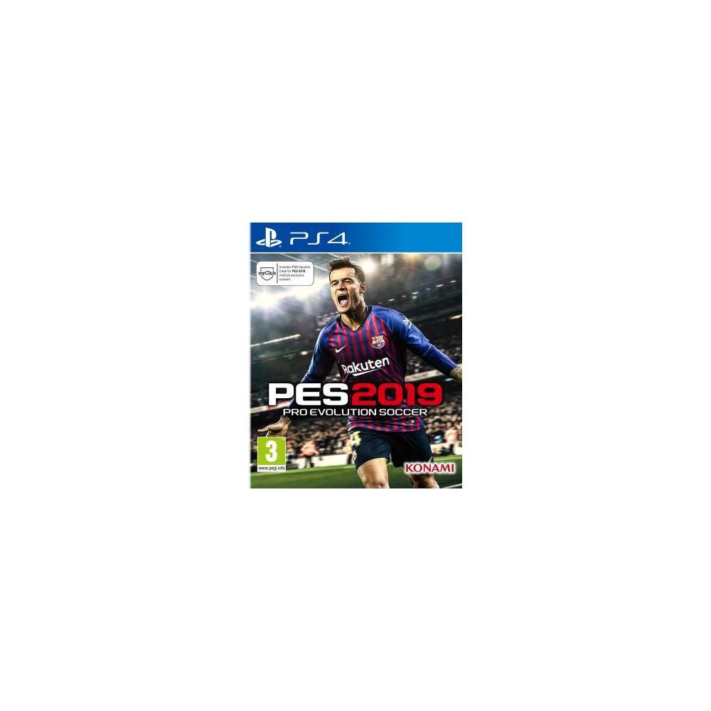 PS4 Pro Evolution Soccer 2019 (PES 2019)
