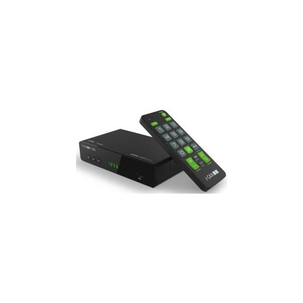 I-Can Decoder T380 DVBT2 HEVC  10 BIT HD/USB